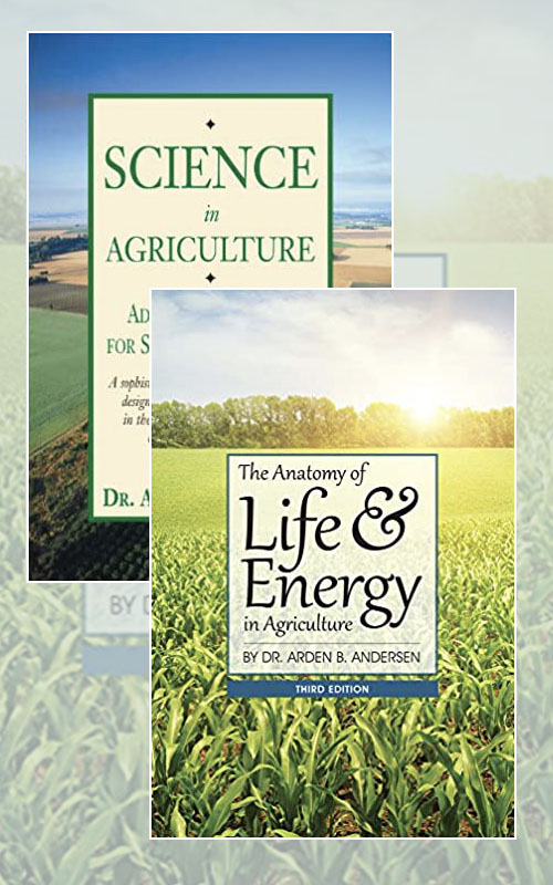Science in Agriculture and The Anatomy of Life & Energy in Agriculture Combo